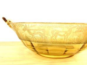 Yellow elegant glass